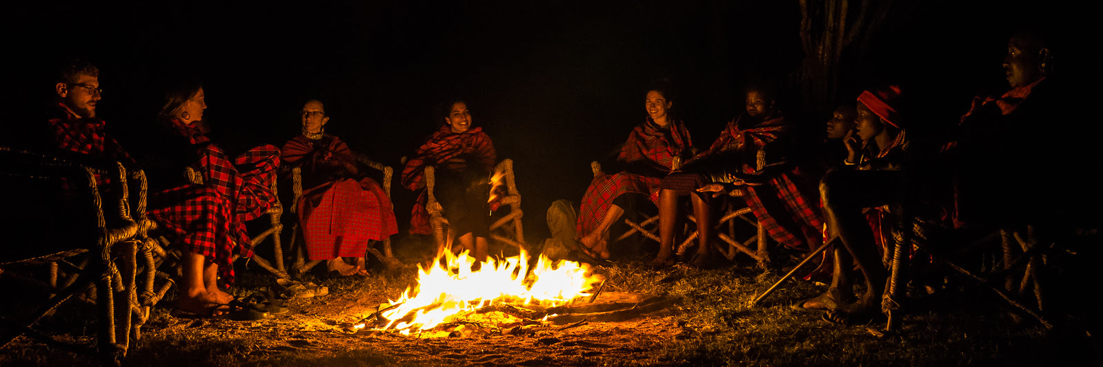 campfire songs with the Maasai